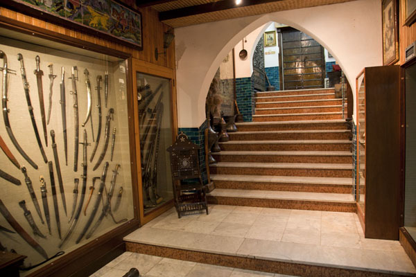 Picture of The stairs leading to the basement where the museum is locatedKuwait - Kuwait