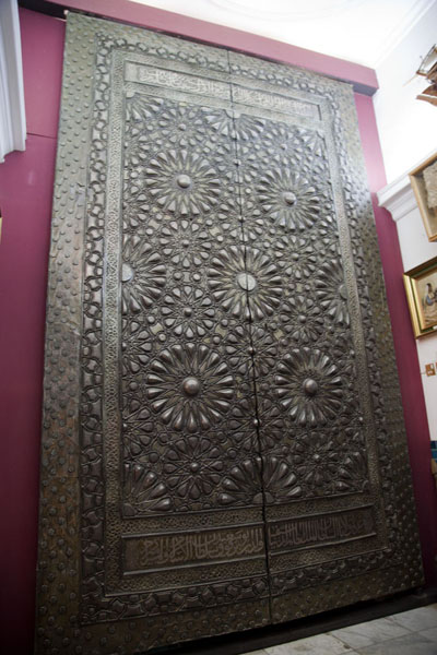 Precious door at the entrance of the museum | Tareq Rajab Museum | Kuwait