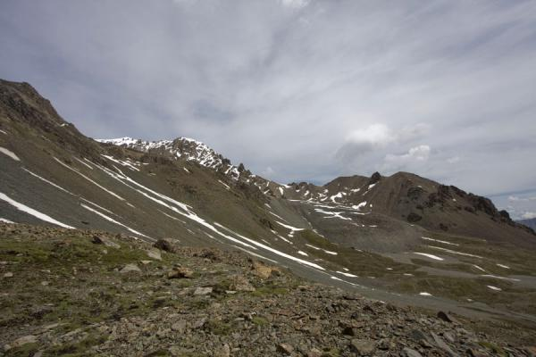 Picture of Rocky slopes near Ala-Köl pass