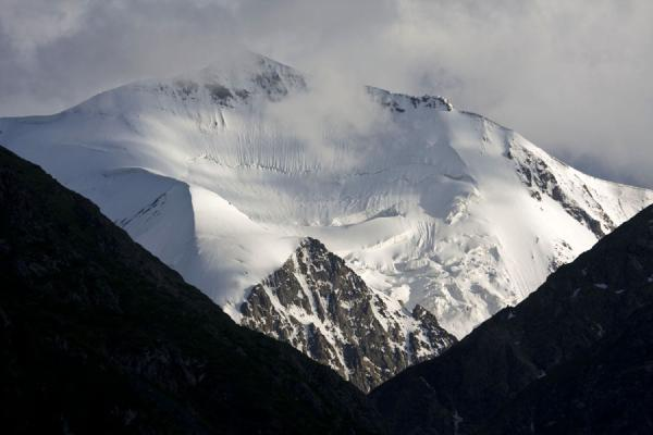 One of the majestic mountain peaks visible from the Ak-Suu valley | Palatka Glacier | Kyrgyzstan