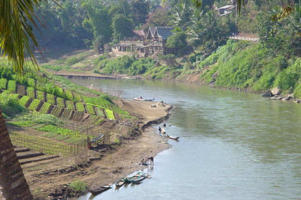 Foto de Bend in the riverRío Mekong - Laos