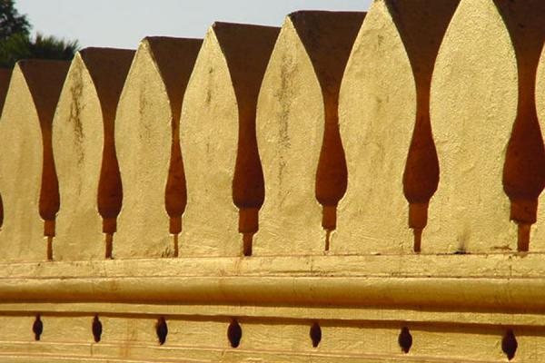 Picture of Fragment of Pha Tat Luang golden templePhatatluang - Laos