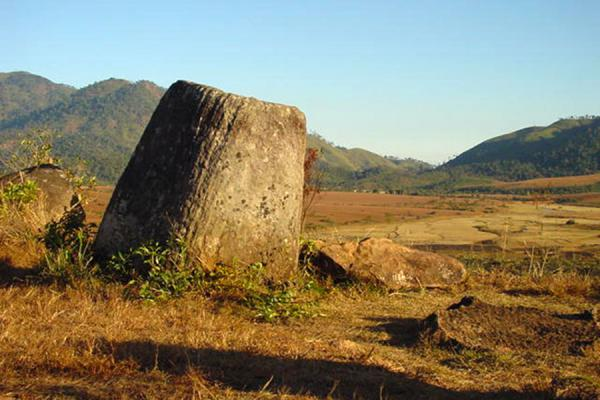 Jar in a plain | Plain of Jars | Laos