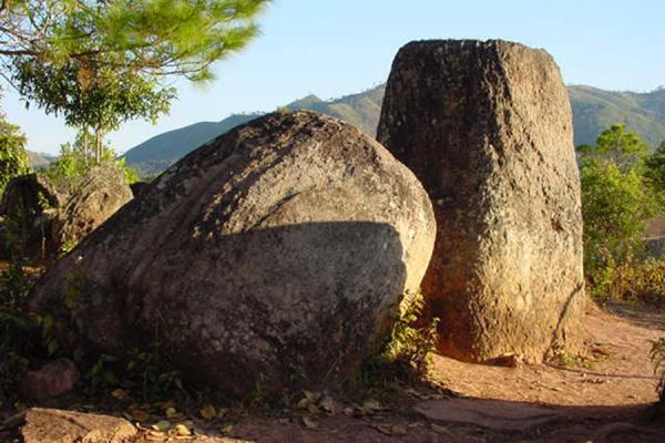 Group of jars | Plain of Jars | Laos