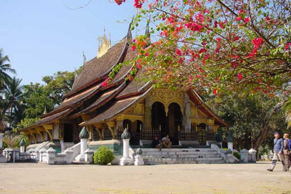Picture of The main templeWatxiengthong - Laos