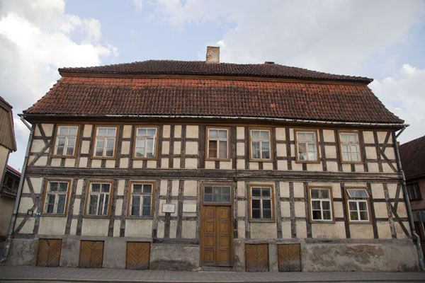 Picture of Traditional house in the old town of Kuldīga