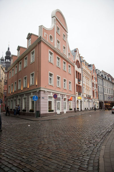 Old buildings on one of the many squares of Riga | Riga Old Town | Latvia