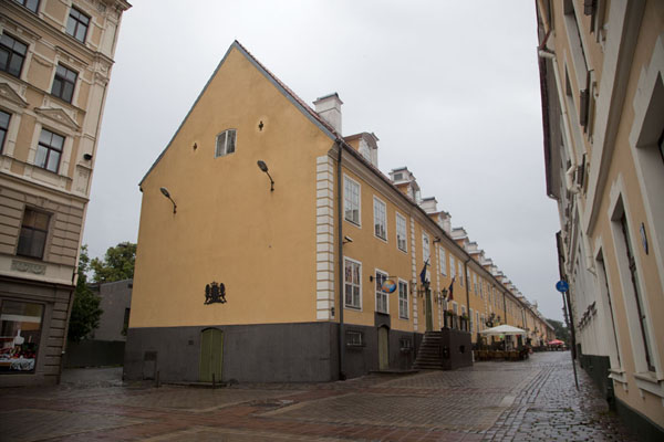 Jacob's Barrack on the northern side of the old town of Riga | Riga Old Town | Latvia