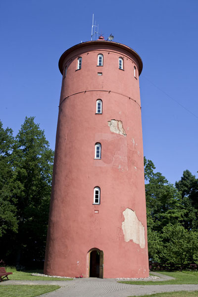 Picture of Slītere National Park (Latvia): The lighthouse of Slītere on a sunny day