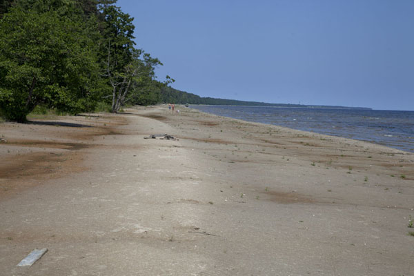 Picture of Slītere National Park (Latvia): The beach and Gulf of Riga south of Cape Kolka