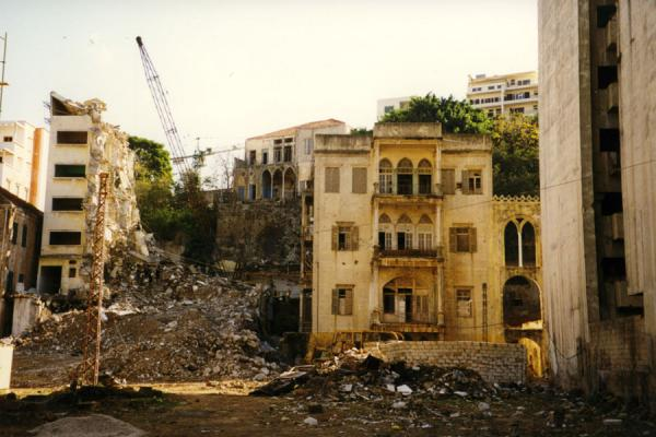 Picture of Destructive forces of the war can still be seenBeirut - Lebanon