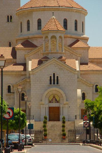 Picture of New Beyrut (Lebanon): One of the churches on Place des Martyrs, Central District, Beirut