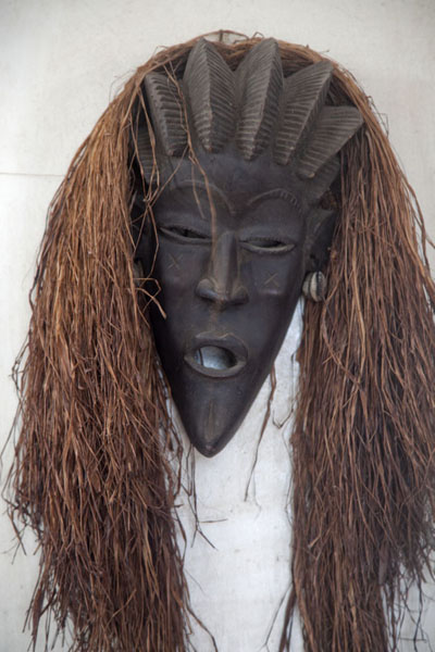 Foto di Mask in the National MuseumMonrovia - Liberia