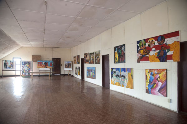 Ebola exhibition in the National Museum of Monrovia | Monrovia | Liberia