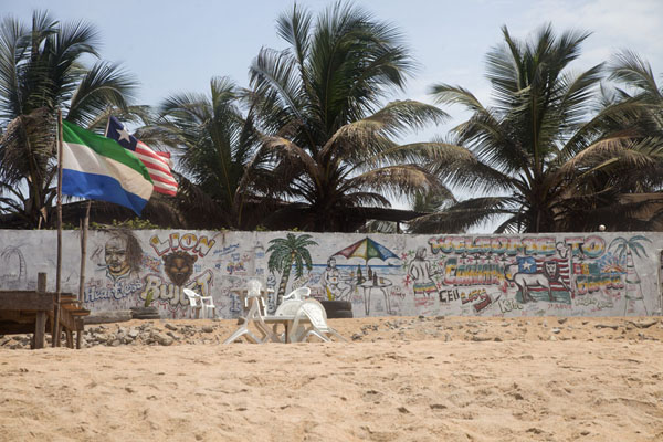 Beach club on one of the golden beaches of Monrovia | Monrovia | Liberia