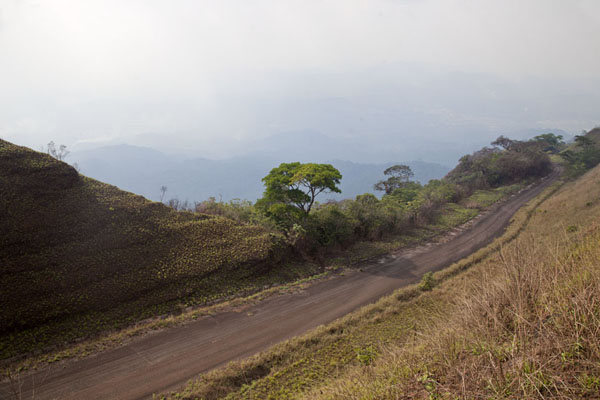 Photo de Road leading up the Mount Nimba rangeMount Nimba Liberia - Libéria