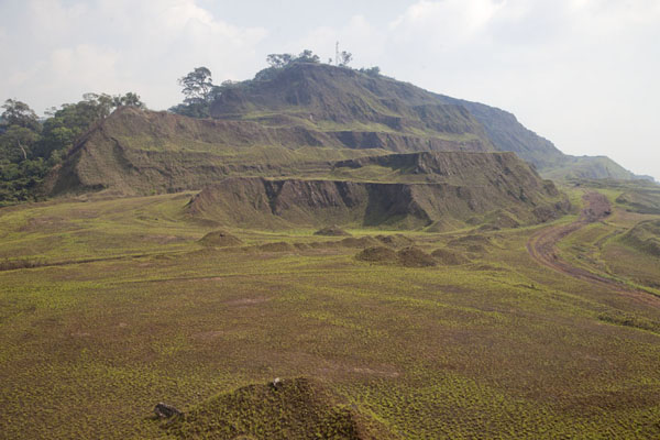 Photo de The landscape near the top ridge of the Mount Nimba rangeMount Nimba Liberia - Libéria