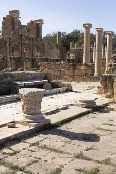 The Roman baths of Leptis Magna | Leptis Magna | Libye