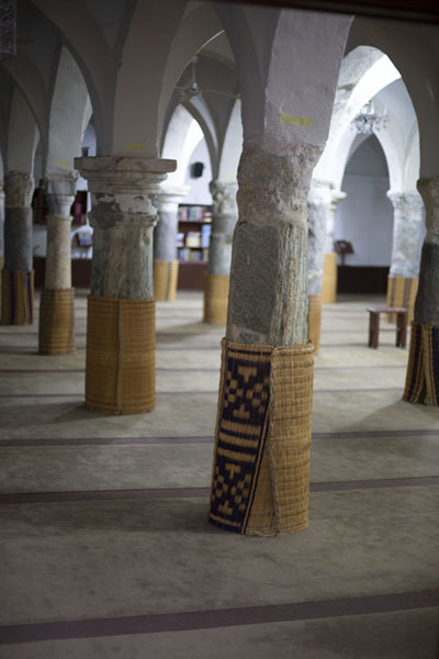 An-Naga mosque with Roman columns | Old Tripoli | Libya