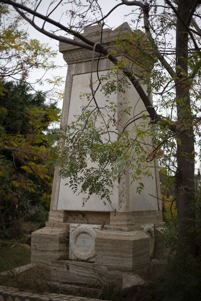 Picture of Monument in the Italian section of the cemetery