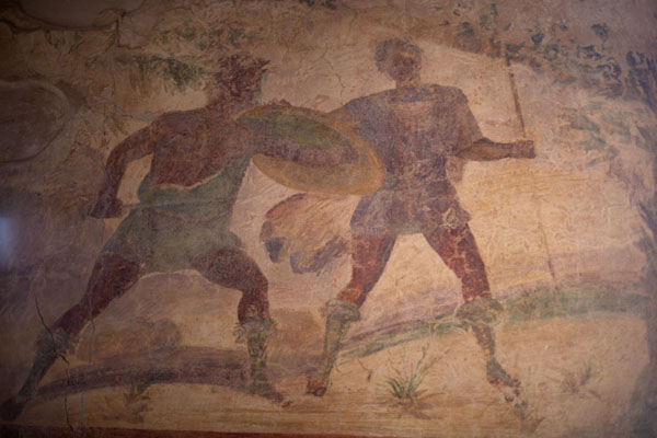 Picture of Fresco in Villa SeleneVilla Selene - Libya