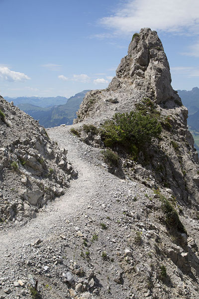 Picture of Higher elevation of FürstensteigFürstensteig - Liechtenstein