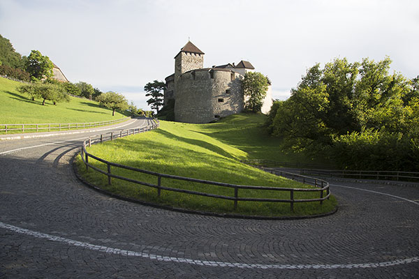 Romantic road to the capital | Vaduz | Liechtenstein