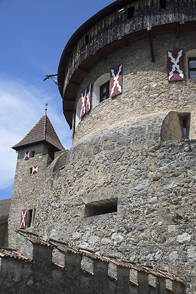 One of the fortresses to protect the country | Vaduz | Liechtenstein
