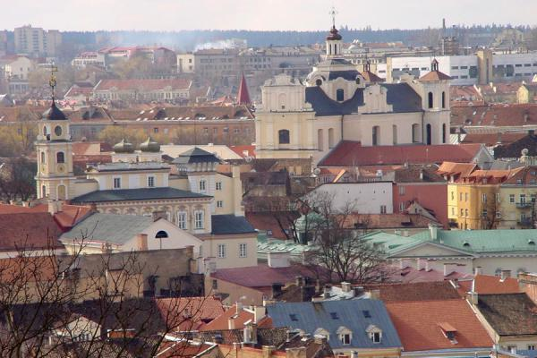 Foto de View from the hillVilnius - Lituania