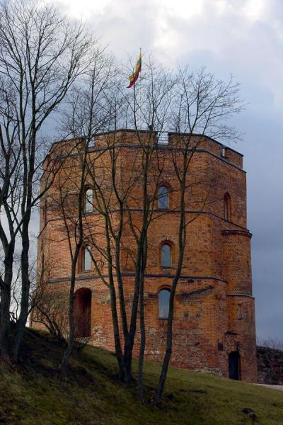 The Castle itself | Gedimino Castle | Lithuania