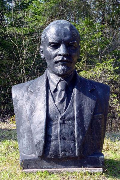Lenin in the grass | Grutas Parkas | Lithuania
