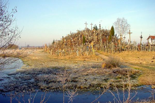 Picture of Hill of Crosses from a distanceLithuania - Lithuania