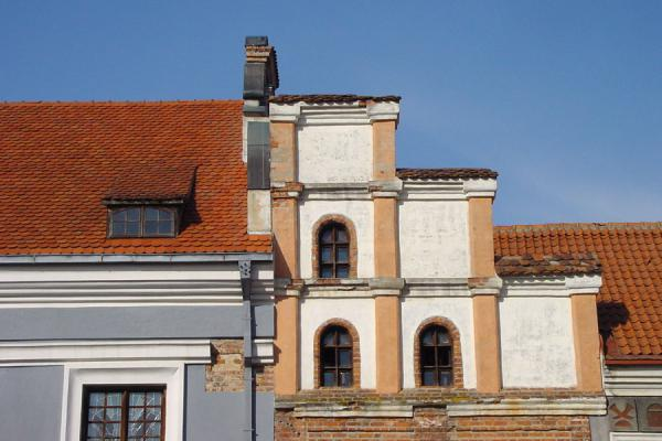 Typical architecture on the city square | Kaunas | Lithuania
