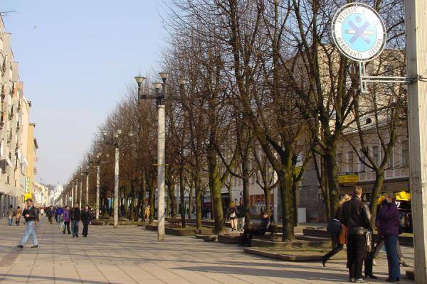 Smoke free shopping boulevard | Kaunas | Lithuania