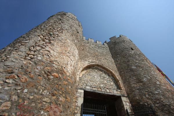 Entrance gate of Samuil Fortress | Ohrid | Macédoine