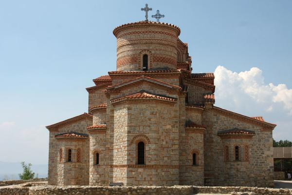 Picture of Modern Sveti Klementi and Pantelejmon church on an ancient site