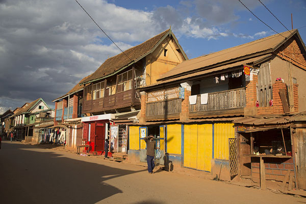 Picture of The main street of AmbalavaoAmbalavao - Madagascar