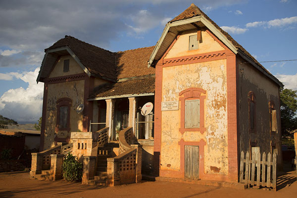 Picture of Ambalavao (Madagascar): Afternoon sun on a colonial building in Ambalavao