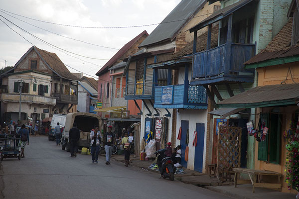 Picture of Main street in AmbalavaoAmbalavao - Madagascar