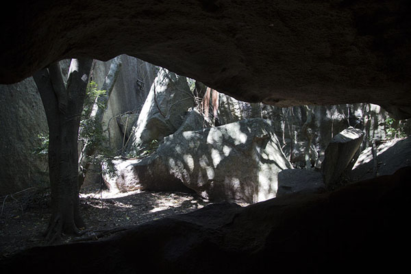 View from within one of the many caves | Anja | Madagascar