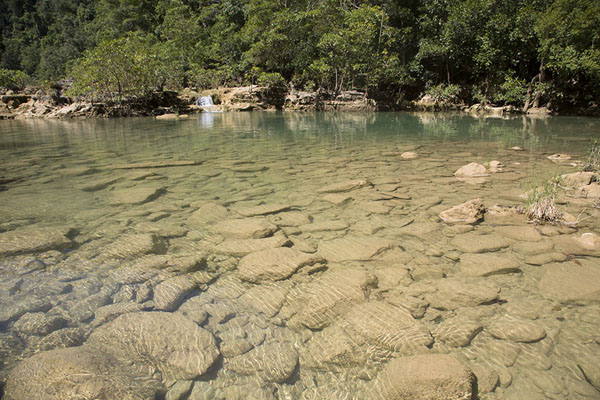 Small pool on a side river of the Manambolo | Manambolo river descent | Madagascar