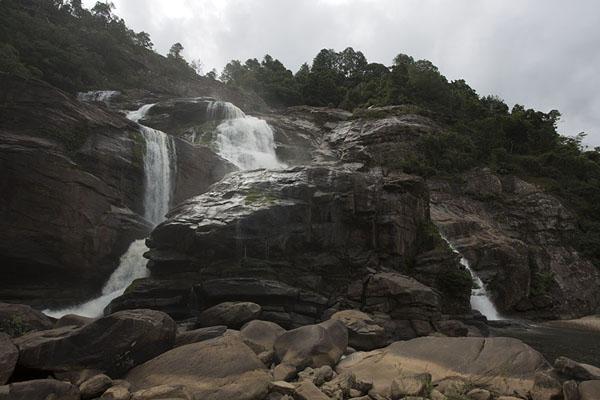 Andriamamovoka Falls in the Namorona river | Ranomafana National Park | Madagascar
