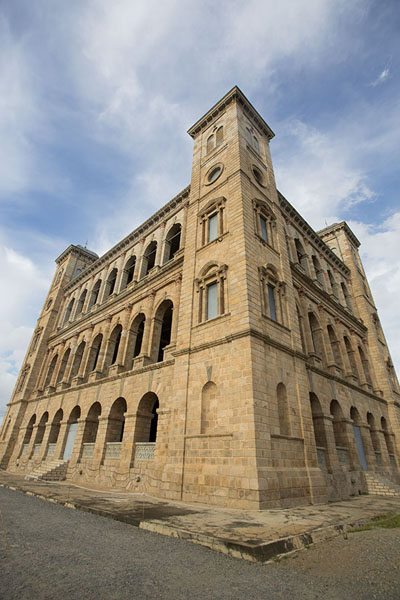 The Manjakamiadana palace, built by James Cameron | Rova Palace | Madagascar