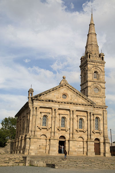 Photo de Frontal view of the royal chapelAntananarivo - Madagascar