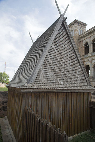 Reconstructed Mahitsy seen from the outside | Rova Palace | Madagascar