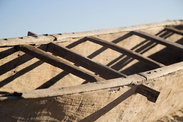 Close-up of a pirogue | Salary | Madagascar