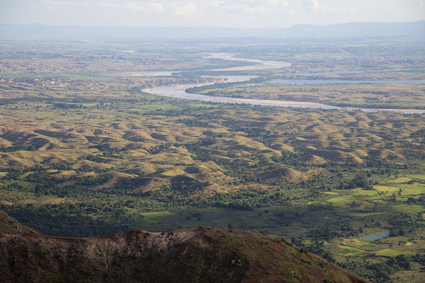 Picture of View over the Manambolo river from the escarpment above AnkavandraTsiroanomandidy Ankavandra - Madagascar