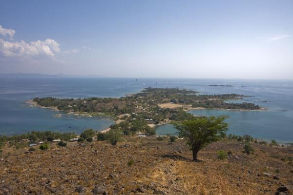 View over the flat southern part of Chizumulu | Chizumulu Island | Malawi