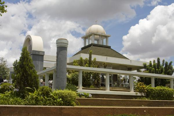 Picture of Kamuzu Banda Mausoleum (Malawi): Looking at the mausoleum from the southern side