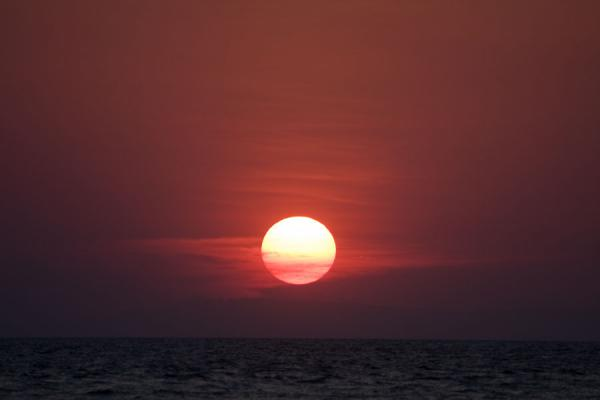 Sunset over Lake Malawi seen from Likoma Island | Likoma Island | Malawi